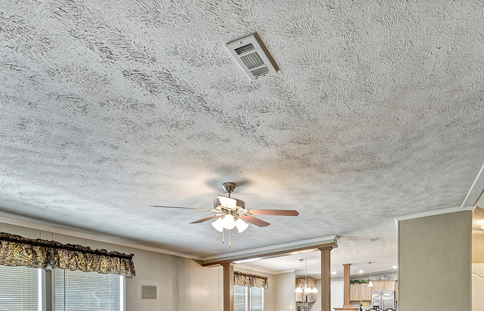 Stipple Texture Ceiling