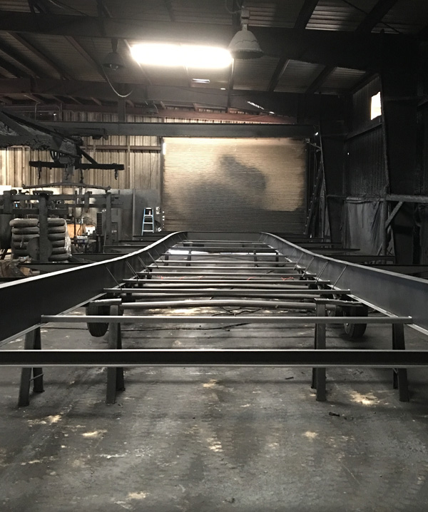 American made Single Piece I-Beam Frame