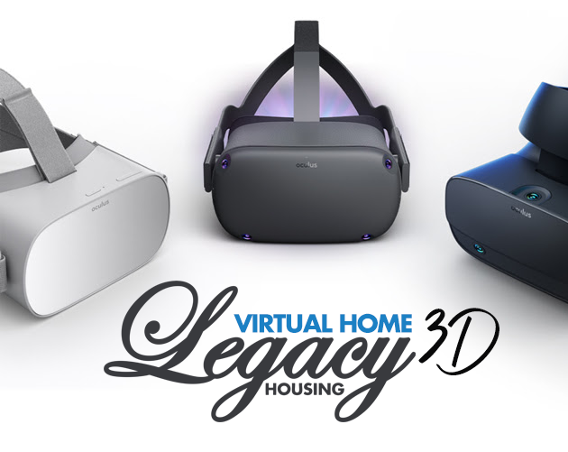 Step inside a Legacy home in 3D with Oculus Go